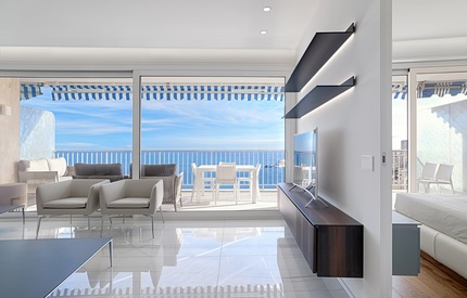 Rare luxury apartment 3 Bed' & sea view