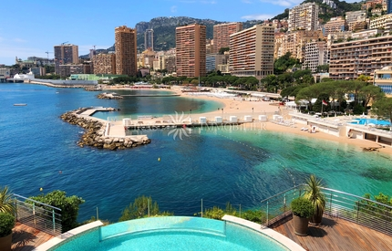 Monaco unique beach front villa - 4 bedrooms