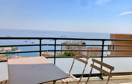Beausoleil : New & stylish 2Bed with sea view