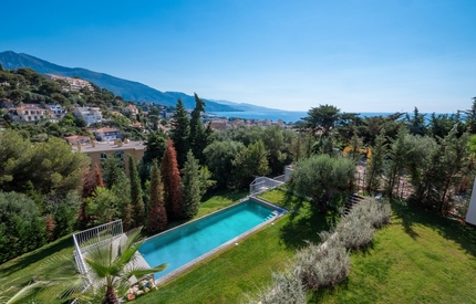 Cap Martin - Stunning Sea view Villa with pool