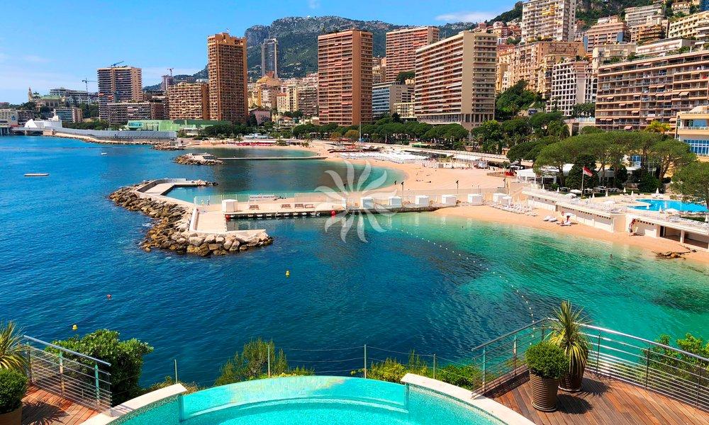 Monaco unique beach front villa - 4 bedrooms