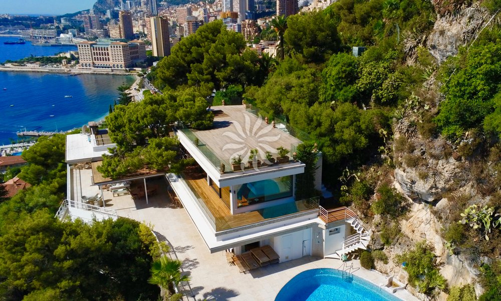 Cap Martin - 5 min to Monaco : Magnificent Villa facing the sea