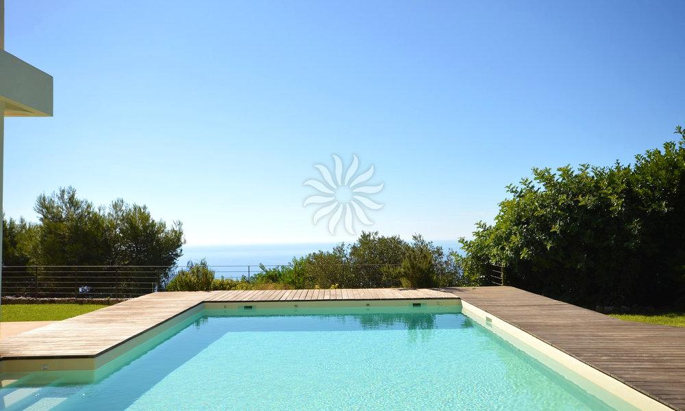 Superbe Villa Surplombant Monaco - Piscine & Vue mer